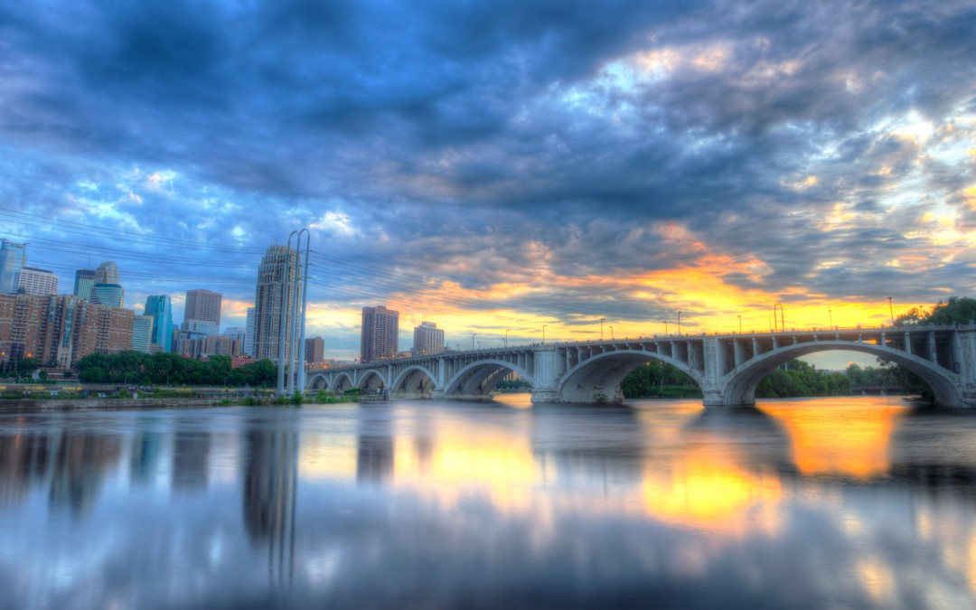 Third Avenue Bridge Sunset