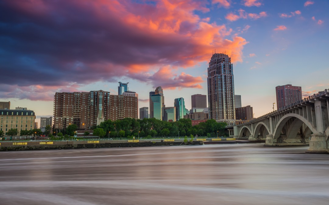 Clouds over Minneapolis